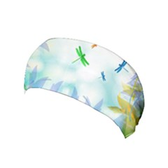 Scrapbooking Tropical Pattern Yoga Headband
