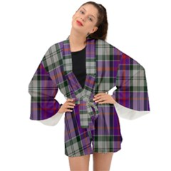 Culloden Dress Tartan Long Sleeve Kimono by impacteesstreetwearfour