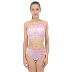 Paris, London, New York Spliced Up Two Piece Swimsuit by Lullaby