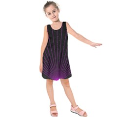 Laser Show Festival Kids  Sleeveless Dress