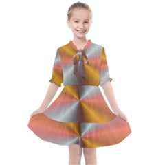 Abstract Easy Shining Kids  All Frills Chiffon Dress by Bajindul