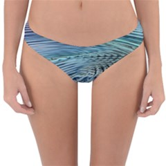 Wave Concentric Waves Circles Water Reversible Hipster Bikini Bottoms