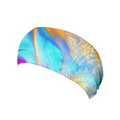 Artwork Digital Art Fractal Colors Yoga Headband by Wegoenart