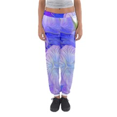 Flowers Abstract Colorful Art Women s Jogger Sweatpants by Vaneshart