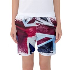 The British Flag Women s Basketball Shorts by Vaneshart