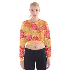 Abstract 1296710 960 720 Cropped Sweatshirt by vintage2030