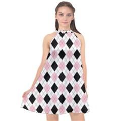 Argyle 316837 960 720 Halter Neckline Chiffon Dress  by vintage2030