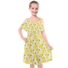 Fruits 1193727 960 720 Kids  Cut Out Shoulders Chiffon Dress