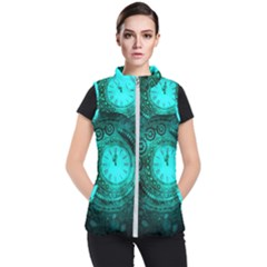 Steampunk 3891184 960 720 Women s Puffer Vest by vintage2030