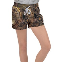 Steam 3160715 960 720 Women s Velour Lounge Shorts by vintage2030