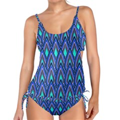 Teardrops In Blue Tankini Set by bloomingvinedesign
