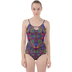 Abstract 39 Cut Out Top Tankini Set by ArtworkByPatrick
