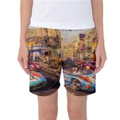 Racing Women s Basketball Shorts by ArtworkByPatrick