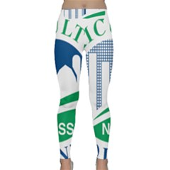Logo Of Usda National Agricultural Statistical Service Classic Yoga Leggings by abbeyz71
