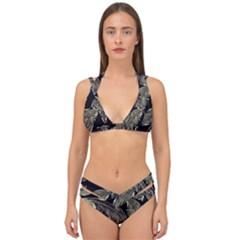 Jungle Double Strap Halter Bikini Set by Sobalvarro
