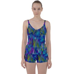 Background  Tie Front Two Piece Tankini by Sobalvarro
