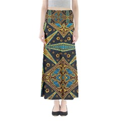 African Printnfull Length Maxi Skirt by ThatsWraps