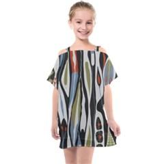 Borastapeter Scandinavian Designers Kids  One Piece Chiffon Dress by Sobalvarro