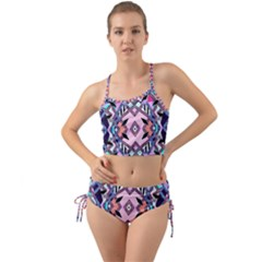 Marble Texture Print Fashion Style Patternbank Vasare Nar Abstract Trend Style Geometric Mini Tank Bikini Set
