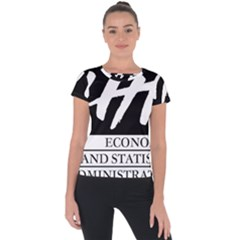 Logo Of Economics And Statistics Administration Short Sleeve Sports Top  by abbeyz71