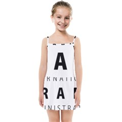 Logo Of United States International Trade Administration  Kids  Summer Sun Dress by abbeyz71