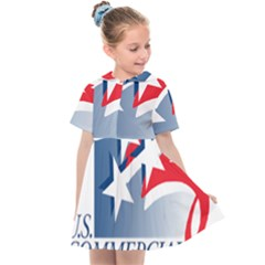 Logo Of United States Commercial Service  Kids  Sailor Dress by abbeyz71