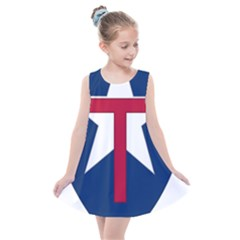 Coat Of Arms Of Texas State Guard Kids  Summer Dress by abbeyz71