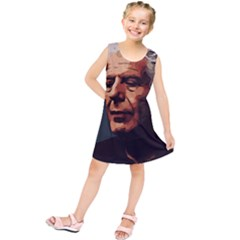 Anthony Bourdain Artwork Kids  Tunic Dress by taoteching
