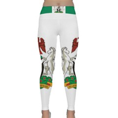 Flag Of Nigeria  Classic Yoga Leggings by abbeyz71