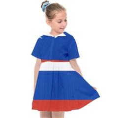 National Flag Of Russia Kids  Sailor Dress by abbeyz71