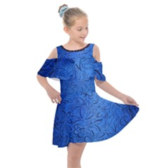 Fashion Week Runway Exclusive Design By Traci K Kids  Shoulder Cutout Chiffon Dress by tracikcollection