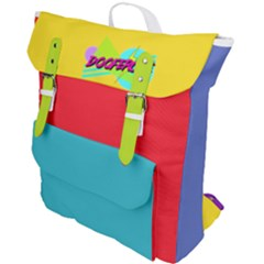 Doofercise Canvas Buckle Up Backpack by doofercise