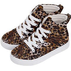Cheetah By Traci K Kids  Hi Top Skate Sneakers by tracikcollection