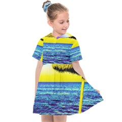 Pop Art Beach Umbrella  Kids  Sailor Dress by essentialimage
