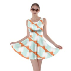 Wallpaper Chevron Skater Dress