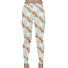 Wallpaper Chevron Classic Yoga Leggings by HermanTelo