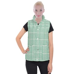 Background Digital Texture Women s Button Up Vest by HermanTelo