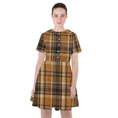 Tartan Design Sailor Dress by impacteesstreetwearfour