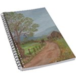 Amish Buggy Going Home 5.5  x 8.5  Notebook