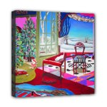 Christmas Ornaments and Gifts Mini Canvas 8  x 8  (Stretched)