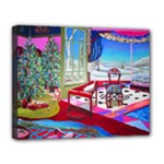 Christmas Ornaments and Gifts Canvas 14  x 11  (Stretched)