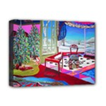 Christmas Ornaments and Gifts Deluxe Canvas 16  x 12  (Stretched)