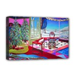 Christmas Ornaments and Gifts Deluxe Canvas 18  x 12  (Stretched)