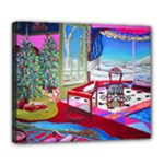 Christmas Ornaments and Gifts Deluxe Canvas 24  x 20  (Stretched)
