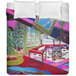 Christmas Ornaments and Gifts Duvet Cover Double Side (California King Size)