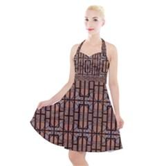 Ab 71 Halter Party Swing Dress  by ArtworkByPatrick