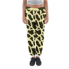 Yellow Giraffe Women s Jogger Sweatpants