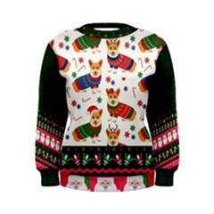 Ugly Christmas Women s Sweatshirt by walala