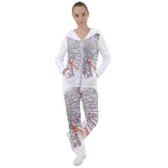 Watercolor Indian Skull Women s Tracksuit by goljakoff
