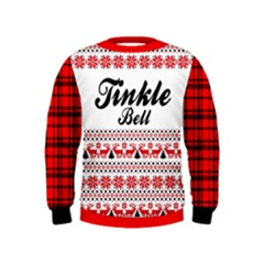 Ugly Christmas Kids  Sweatshirt Clone by walala